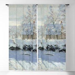 Claude Monet - The Magpie Blackout Curtain