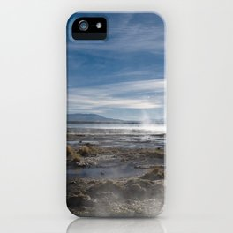 Bolivia 3-Geysers iPhone Case