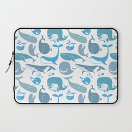 Whales Pattern Laptop Sleeve