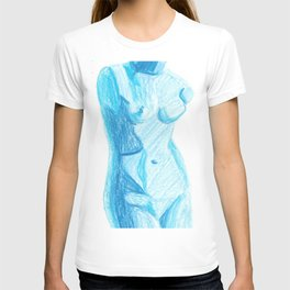 Blue Nude T-shirt
