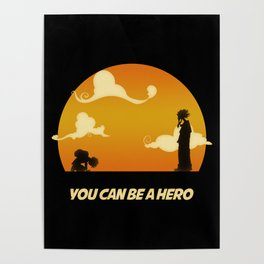 My Hero Sunset Poster
