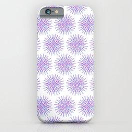 Symmetrical Shapes - Confetti Burst iPhone Case