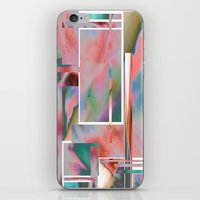 glitch iPhone & iPod Skins featuring Glitch by autumndellaway