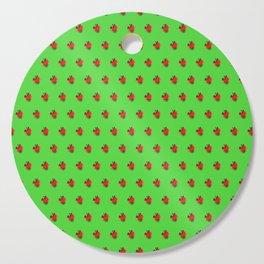 Strawberry Green - Posterized Cutting Board