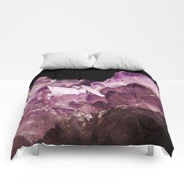 Amethyst Quartz Comforters