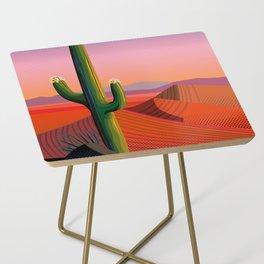 Saguaro Blossoms Side Table