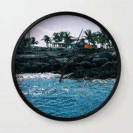 Coastline Wall Clock