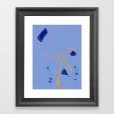 String | Modern Happy Art Framed Art Print