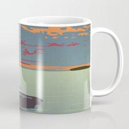 Fathom Five National Park Poster (Flowerpot Island) Coffee Mug