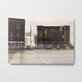 Michigan Grand Central Station Metal Print