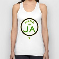 jamaica Tank Tops featuring Made in Jamaica by DCMBR - December Creative Group