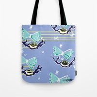 sandman Tote Bags featuring Sandman by Wyldbloom
