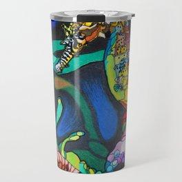 Rainbow Seahorse Travel Mug