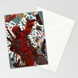 Wade Wilson Stationery Cards