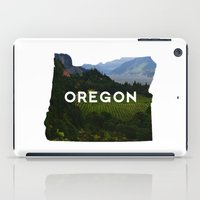 oregon iPad Cases featuring Oregon by Hillary Murphy