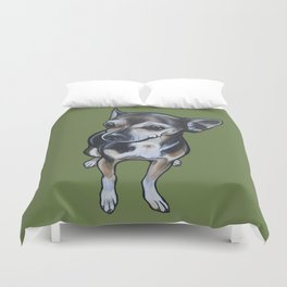 Artie the Chihuahua Duvet Cover