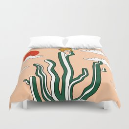 King of the Cactus Duvet Cover