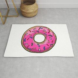 Happy Donut Day Rug