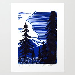 Breckenridge Art Print