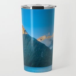 Milford Sound wild beauty, New Zealand. Travel Mug