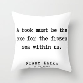 2  | Franz Kafka Quotes | 190909 Throw Pillow