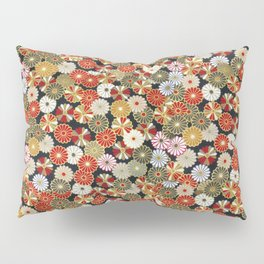 Golden Chrysanthemums Pillow Sham
