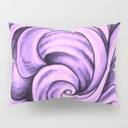 Swirl (NEON PINK) Pillow Sham