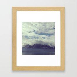 Mystic Mountain Framed Art Print