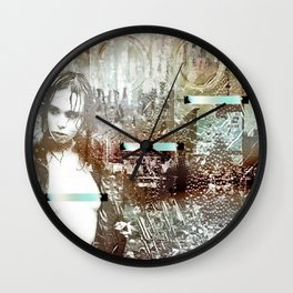 Staples and Portholes Wall Clock