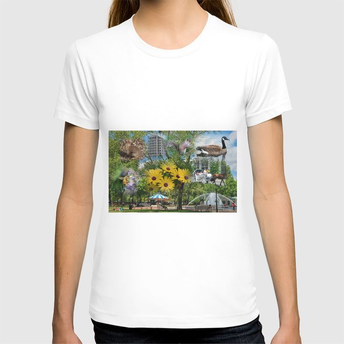 Spring In Philadelphia Collage  T-shirt