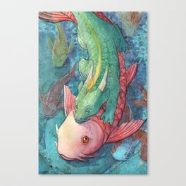 Water game Canvas Print