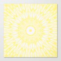 lemon Canvas Prints featuring Lemon by Simply Chic