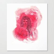 Modern Romance Canvas Print