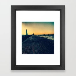 Concrete Nature Framed Art Print