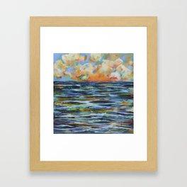 Sea of Ballads Framed Art Print