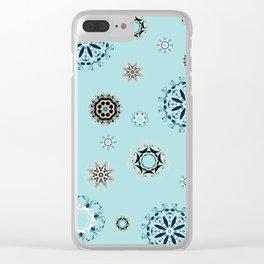 Mandala (1) Clear iPhone Case