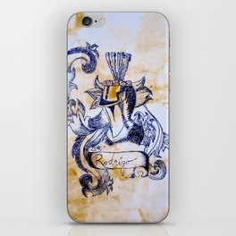 Rodriguez Crest iPhone Skin