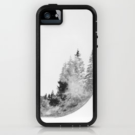 forest on the moon iPhone Case
