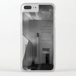 Petone Settlers Museum Clear iPhone Case
