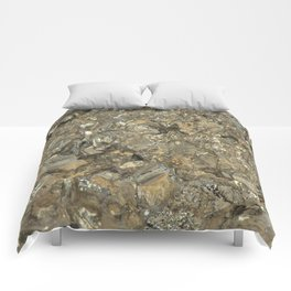 """Pyrite """"Fool's Gold"""" Comforters"""