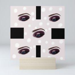 Abstract art,pattern.Digital eye Mini Art Print