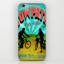 Canal Fulton Massillon Navarre Towpath Bicycle Adventure iPhone Skin