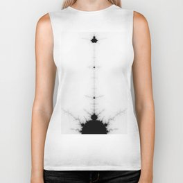 detail on mandelbrot set Biker Tank