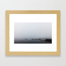 No Horizon Framed Art Print