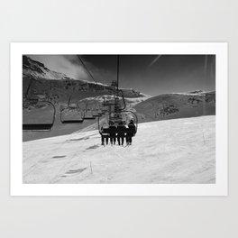 One Way Trip Art Print
