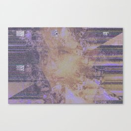 Fading into obscurity. Canvas Print