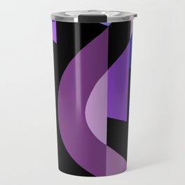 SUISSE - Art Deco Modern: BRIGHT MIDNIGHT Travel Mug