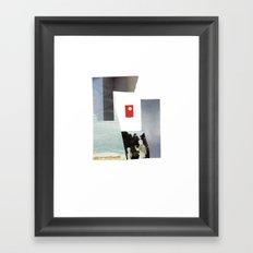 Non-dot Framed Art Print