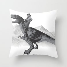 History Revised Throw Pillow
