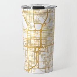 ORLANDO FLORIDA CITY STREET MAP ART Travel Mug